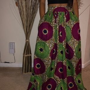 Dresses & Skirts - Traditional Ankara print Dashiki Skirt